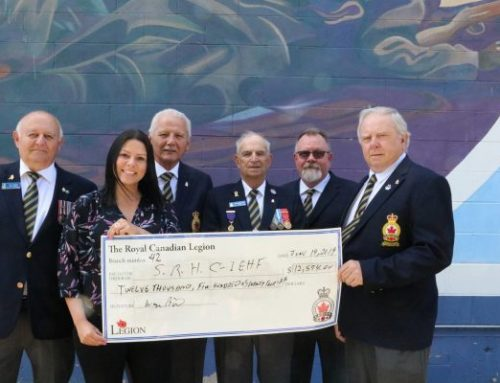 Royal Canadian Legion #42 supports patient care at Selkirk Regional Health Centre while honouring Veterans