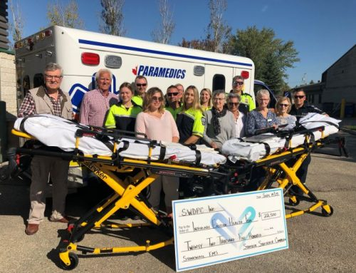 Stonewall celebrates completion of Stryker Powered Ambulance Stretcher Campaign!