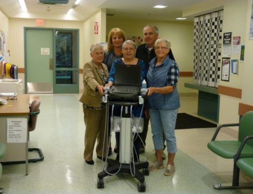 Stonewall and District Health Foundation supports patient care in Stonewall with the purchase of an ultrasound machine!